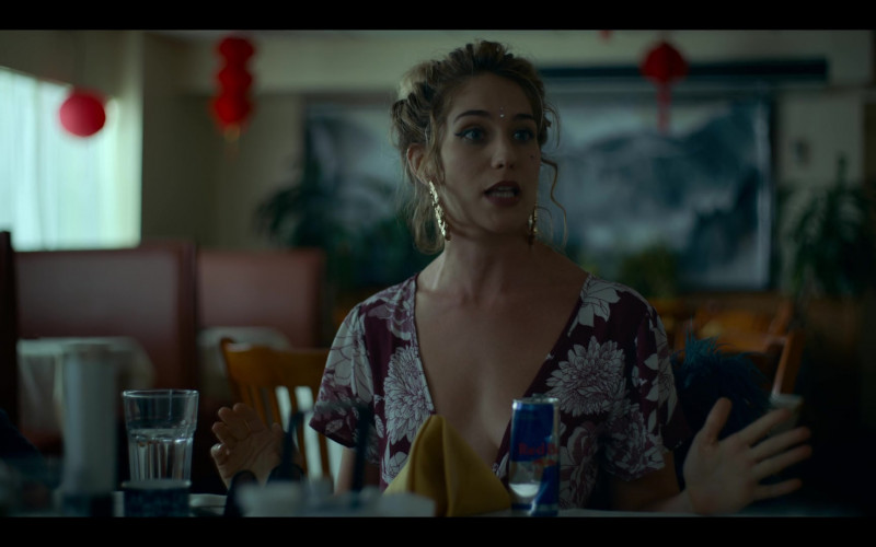 Red Bull Energy Drink Enjoyed by Lola Kirke in Lost Girls (2020)
