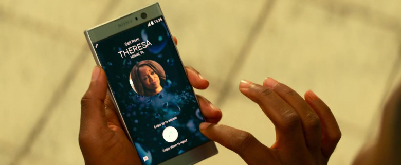 Sony Xperia Android Smartphone Used by Martin Lawrence in Bad Boys for Life (2020)