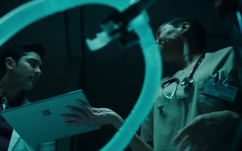 Surface Tablet by Microsoft in The Resident S03E18 So Long, Dawn Long (2020)