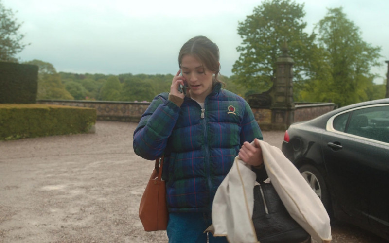 Tommy Hilfiger Jacket Worn by Charlotte Ritchie in Feel Good S01E02 (1)