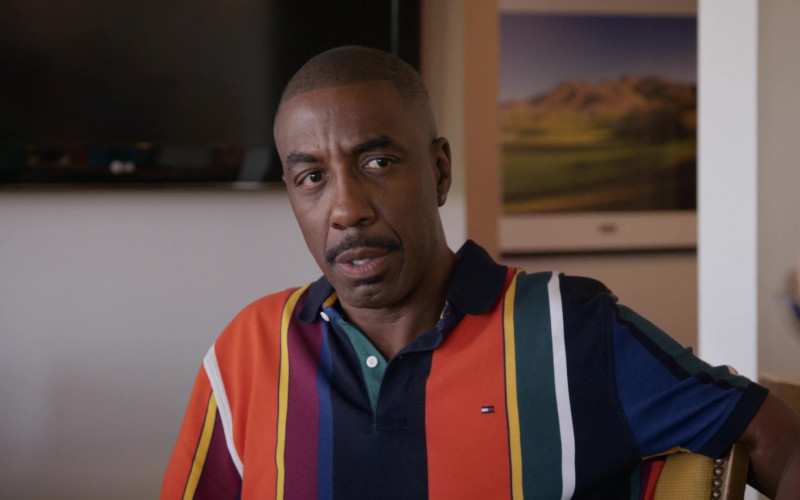 Tommy Hilfiger Polo Shirt Worn by Jerry Angelo Brooks in Curb Your Enthusiasm S10E10 (2)