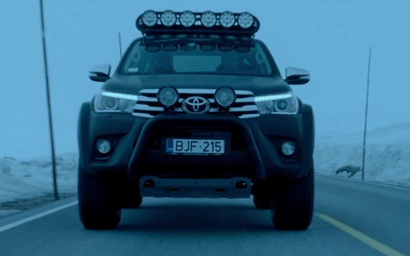 Toyota Hilux Arctic Truck in The Postcard Killings (2)