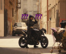 Triumph Motorcycle used by Mary Elizabeth Winstead as Helena Bertinelli The Huntress in Birds of Prey (1)