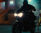 Triumph Motorcycle used by Mary Elizabeth Winstead as Helena Bertinelli The Huntress in Birds of Prey (3)