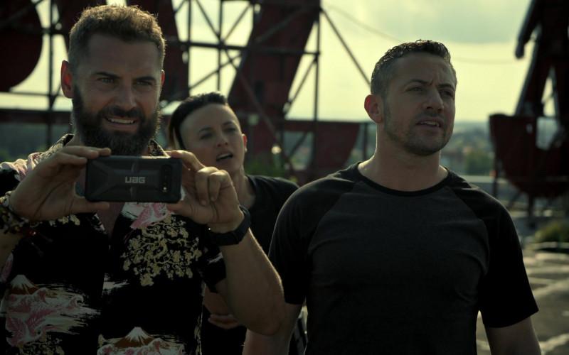 UAG Phone Case in Strike Back S08E05