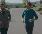 Under Armour Grey Hoodie Worn by Ron Livingston as Pete in Holly Slept Over (1)