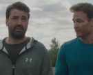 Under Armour Grey Hoodie Worn by Ron Livingston as Pete in Holly Slept Over (2)