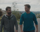 Under Armour Grey Hoodie Worn by Ron Livingston as Pete in Holly Slept Over (3)