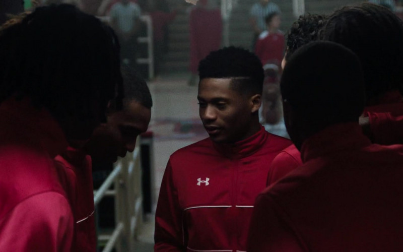 Under Armour Red Tracksuits in The Way Back (1)