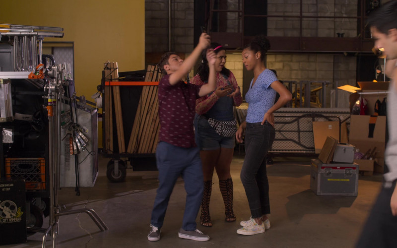 Vans Shoes Worn by Sierra Capri as Monse Finnie in On My Block S03E06