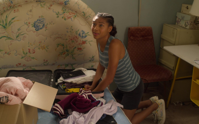 Vans Sneakers Worn by Sierra Capri as Monse Finnie in On My Block S03E08