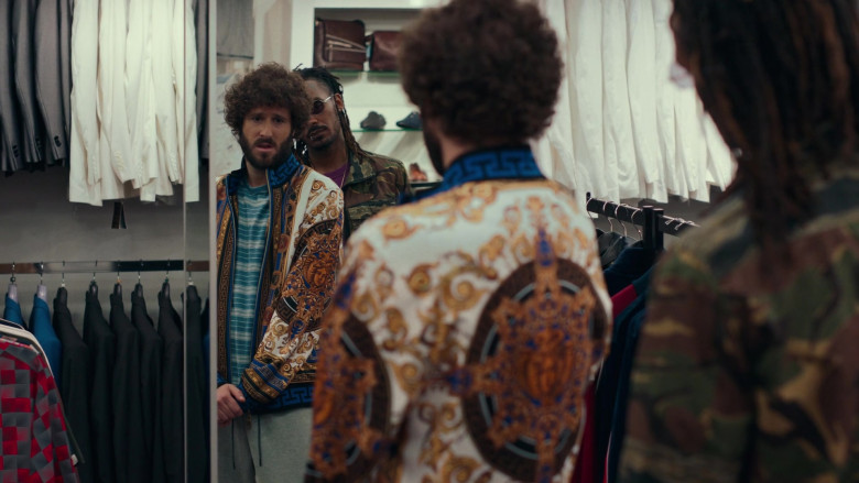 Versace Jacket Worn by David Andrew Burd in Dave S01E05 Hype Man (1)