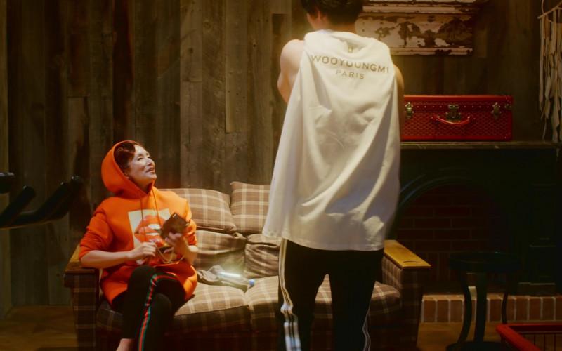 Wooyoungmi Paris White T-Shirt For Men in Followers S01E02 Login (1)