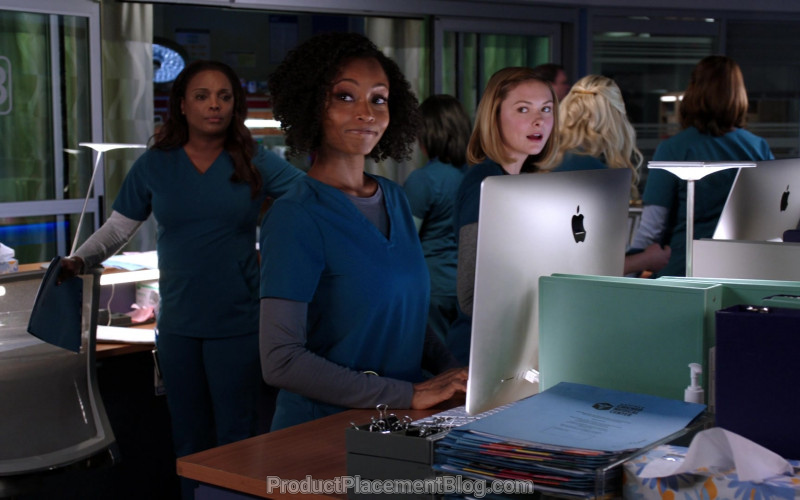 iMac Computers by Apple in Chicago Med S05E16 I Will Do No Harm (1)
