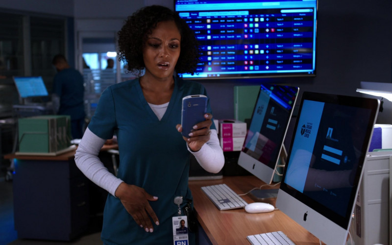iMac Computers by Apple in Chicago Med S05E17 (2)