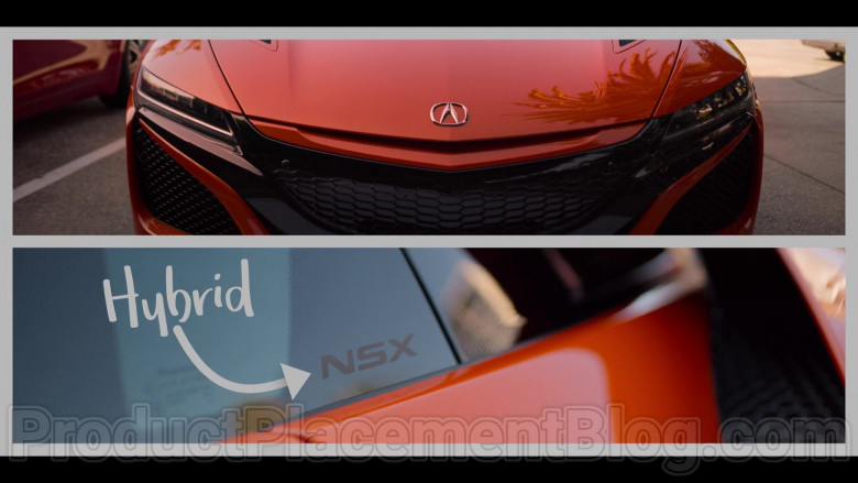 Acura NSX Hybrid Orange Supercar in in #blackAF S01E01 (1)