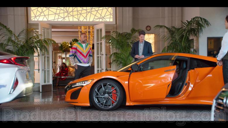 Acura NSX Hybrid Orange Supercar in in #blackAF S01E01 (2)