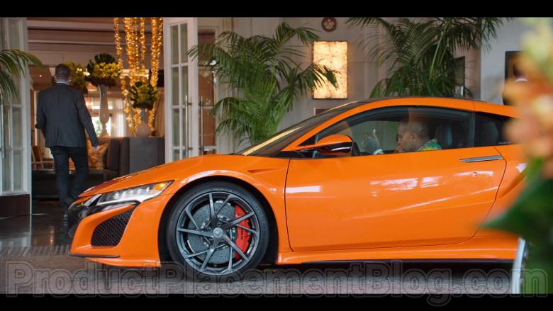 Acura NSX Hybrid Orange Supercar in in #blackAF S01E01 (3)