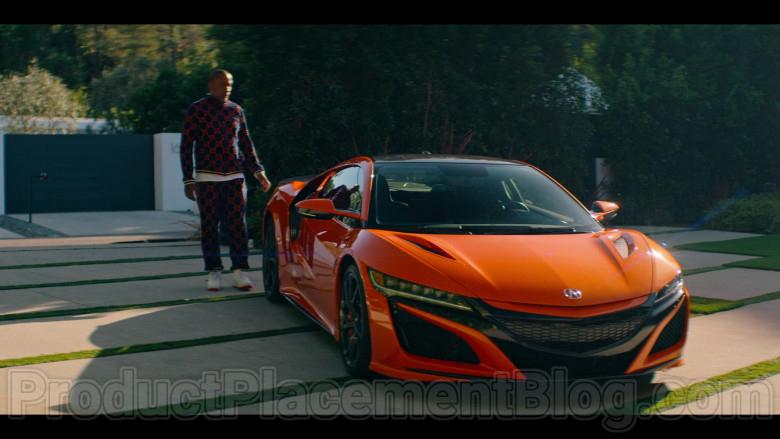 Acura NSX Hybrid Orange Supercar in in #blackAF S01E01 (4)