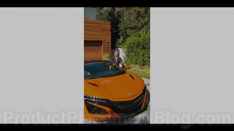 Acura NSX Hybrid Orange Supercar in in #blackAF S01E01 (5)