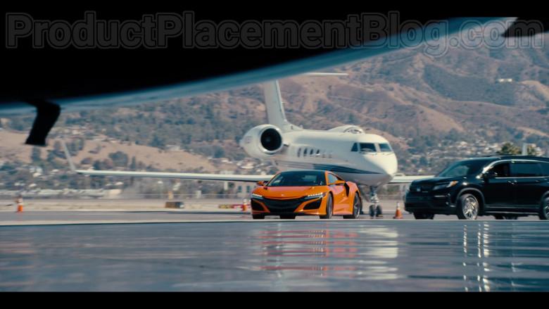 Acura NSX Orange Car in #blackAF S01E07 (2)