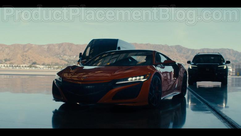 Acura NSX Orange Car in #blackAF S01E07 (3)