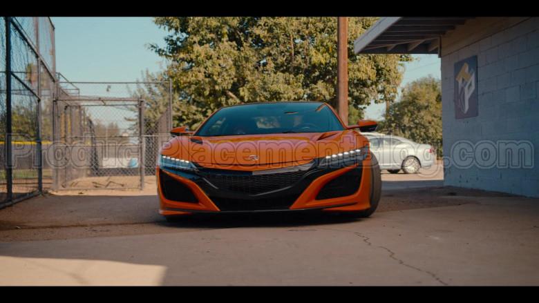 Acura NSX Orange Sports Car in #blackAF S01E04 (1)