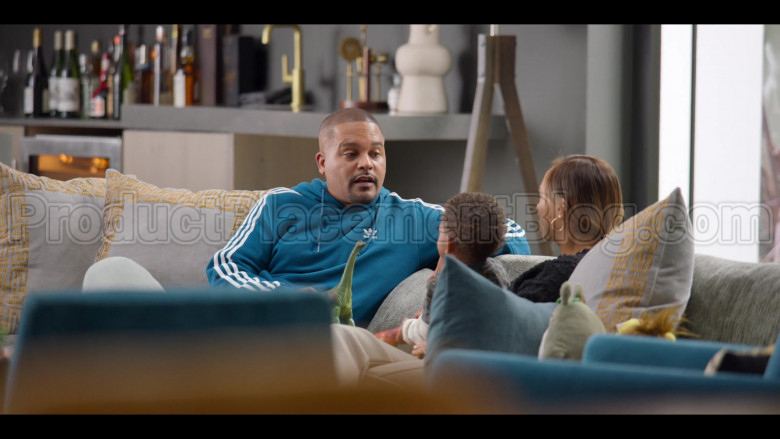 Adidas Blue Hoodie For Men in #blackAF S01E04 (1)