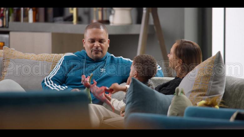 Adidas Blue Hoodie For Men in #blackAF S01E04 (2)