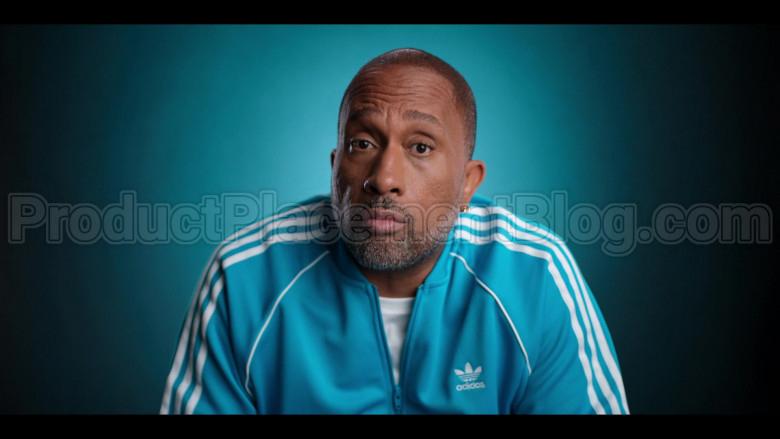 Adidas Blue Jacket of Kenya Barris in #blackAF S01E01 (1)