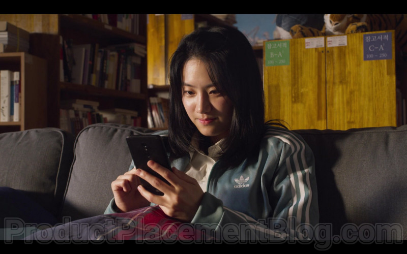 Adidas Green Jacket For Women in Extracurricular S01E02 (1)