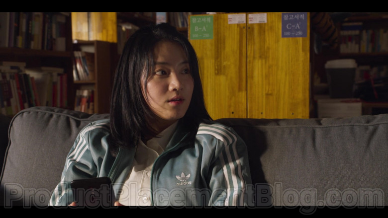 Adidas Green Jacket For Women in Extracurricular S01E02 (2)