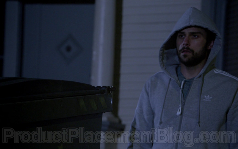 Adidas Grey Hoodie in How to Get Away with Murder S06E12