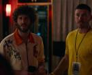 Adidas Men's Yellow T-Shirt in Dave S01E06 Talent Shows (2...