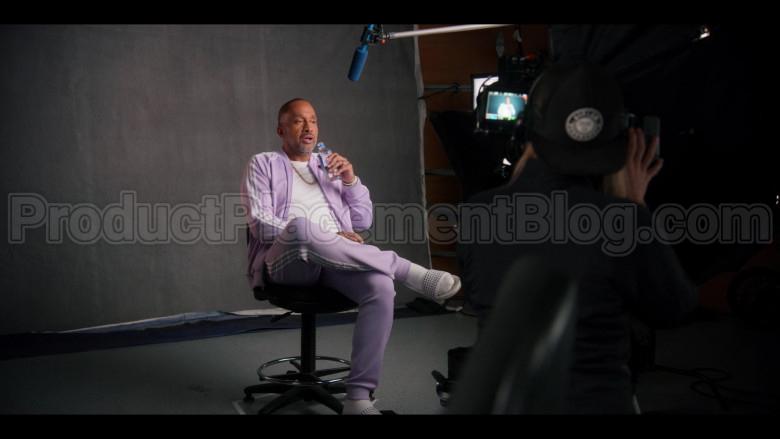 Adidas Purple Bomber Jacket and Pants (Tracksuit) of Kenya Barris in #blackAF S01E07 (1)