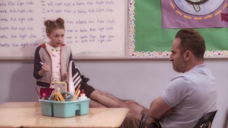 Adidas Sneakers Worn by Ben Giroux as Coach Fener in The Big Show Show S01E08 (1)