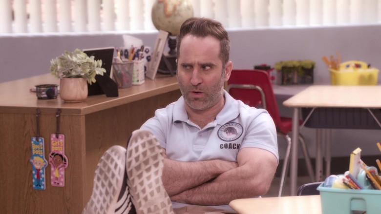 Adidas Sneakers Worn by Ben Giroux as Coach Fener in The Big Show Show S01E08 (2)