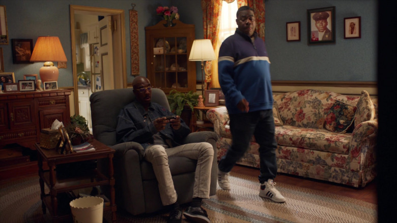 Adidas White Shoes of Tracy Morgan as Tray in The Last O.G. S03E01 (2)