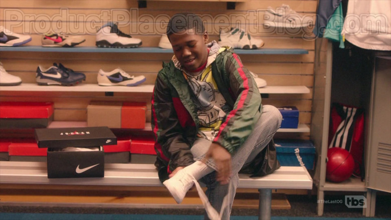 Air Jordan Red & White Sneakers by Nike in The Last O.G. S03E04 (1)