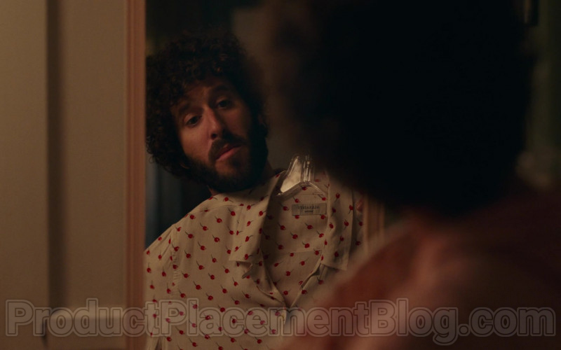 AllSaints Cherry Print Shirt of Lil Dicky in Dave S01E08 PIBE