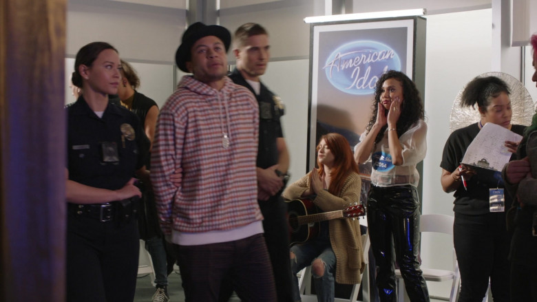 American Idol TV Show in The Rookie S02E16 (1)