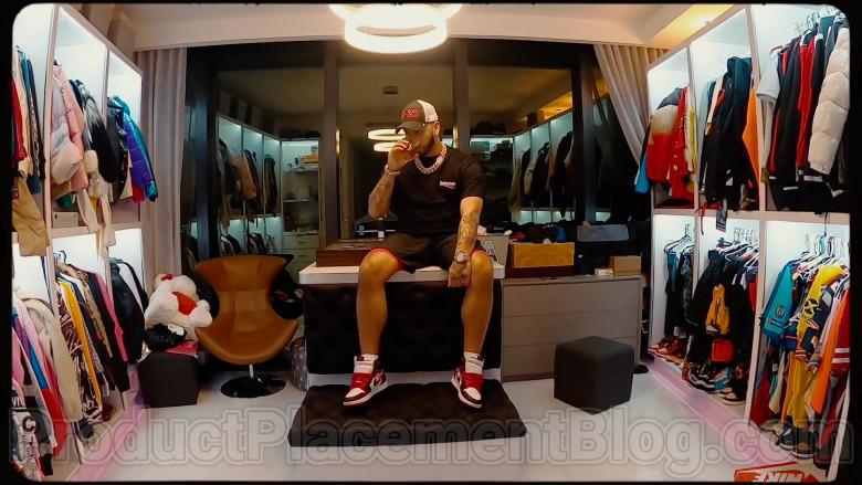 Anuel AA Wearing Nike Sneakers (1)