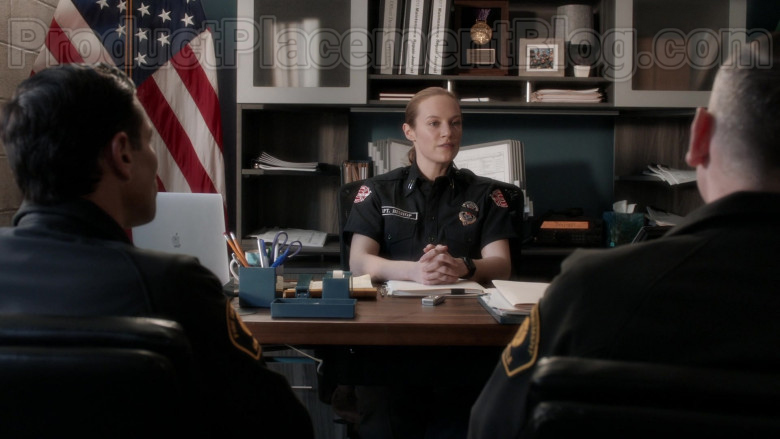 Apple MacBook Laptop of Danielle Savre as Maya Bishop in Station 19 S03E13 (1)