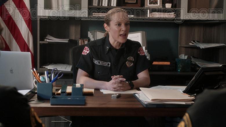 Apple MacBook Laptop of Danielle Savre as Maya Bishop in Station 19 S03E13 (3)