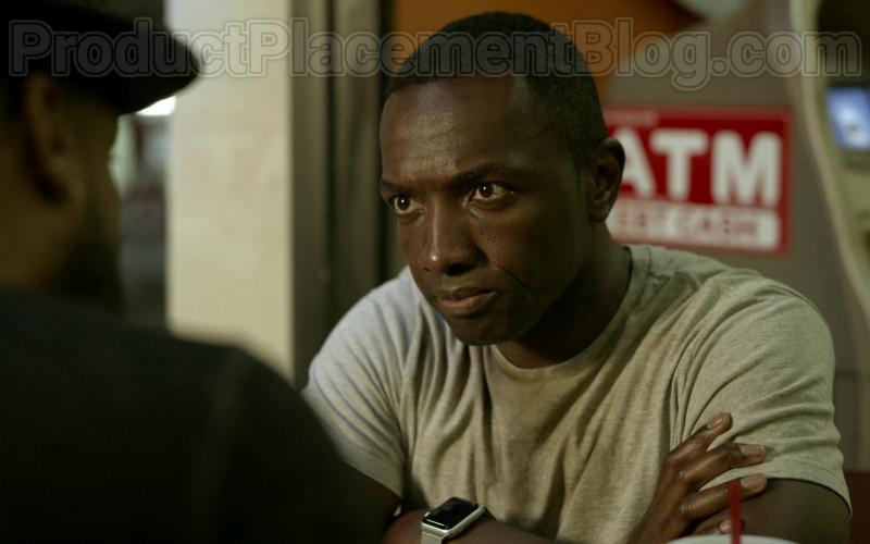 Apple Watch of Jamie Hector as Detective II Jerry Edgar in Bosch S06E03