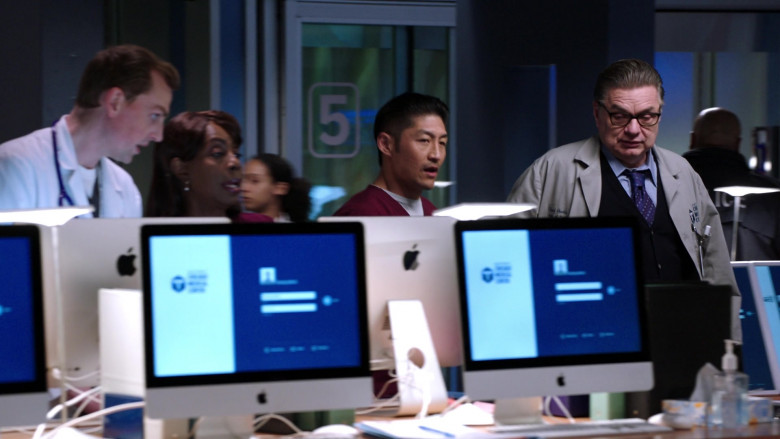 Apple iMac AIO Computers in Chicago Med S05E19 (1)