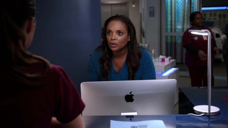 Apple iMac AIO Computers in Chicago Med S05E19 (4)