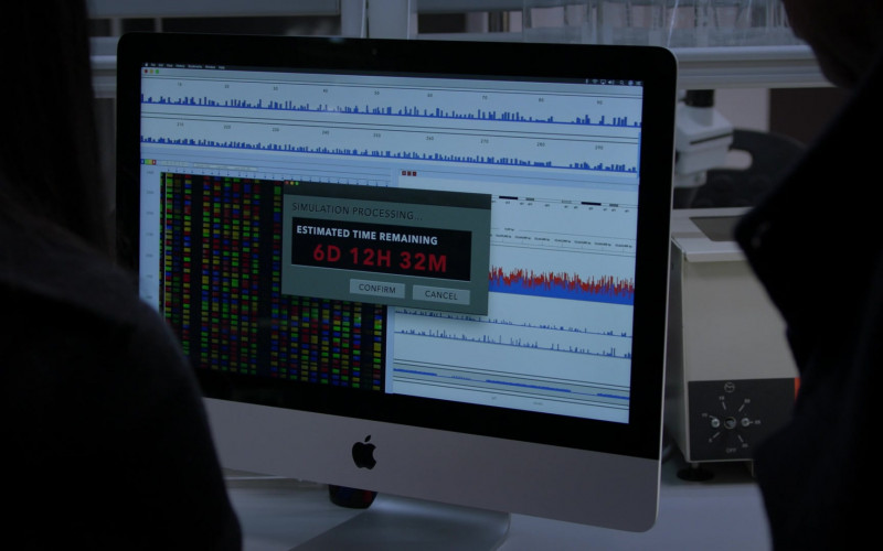 Apple iMac Computer of Parveen Kaur as Saanvi Bahl in Manifest S02E13
