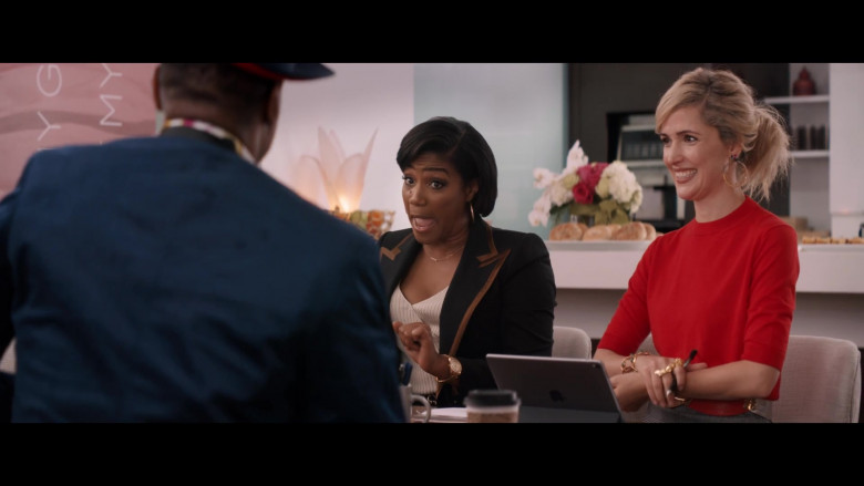 Apple iPad Tablet of Rose Byrne in Like a Boss (1)