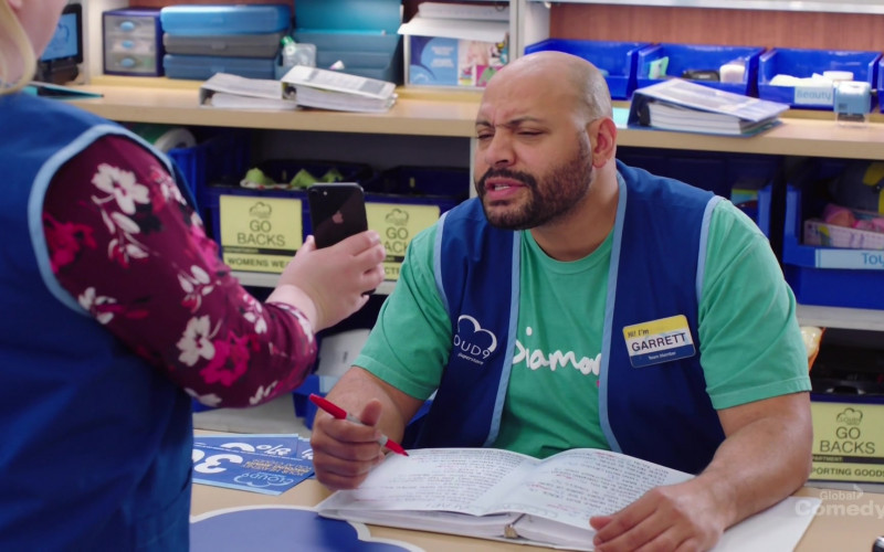Apple iPhone Smartphone in Superstore S05E20